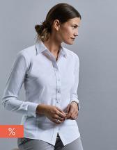 Ladies` Long Sleeve Tailored Coolmax® Shirt